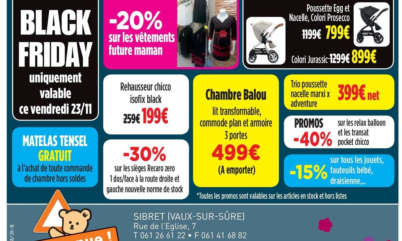 Black Friday ce 23 novembre !